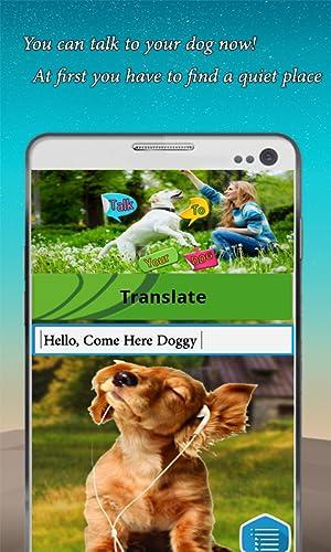 Habla con tu perro - Traductor