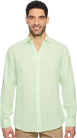 Polo Ralph Lauren - Linen Spread Long Sleeve Sport Shirt