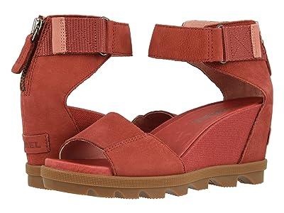 SOREL Joanietm II Ankle Strap (Dusty Crimson) Women