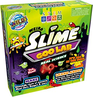 weird science lab slime experiment