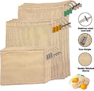 cotton net produce bags