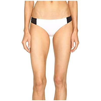 Stella McCartney Stella Iconic Classic Bikini Bottom (Black/Stone/White) Women