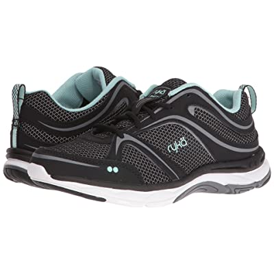 Ryka Shift (Black/Meteorite/Eggshell Blue) Women
