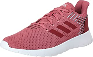 Adidas Asweerun Mesh Textile Side Stripe Logo Tongue Lace-Up Sneakers for Women