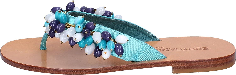 EDDY DANIELE Sandals Womens Turquoise