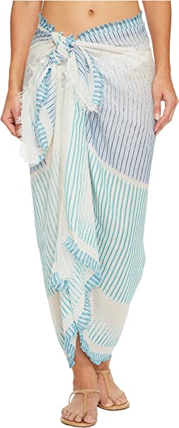 Echo Design - Ocean Stripe Pareo Wrap