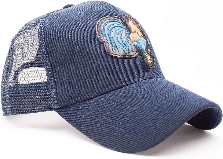 Dan Merchandise Mens Snapback Farm Rooster Cock Trucker Baseball Cap