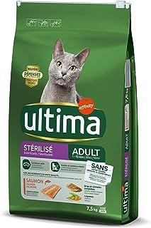 comprar comparacion Ultima Pienso para gatos esterilizados adultos con salmón - 7.5 kg