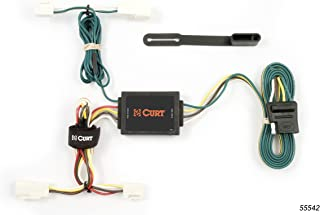 CURT 55542 Vehicle-Side Custom 4-Pin Trailer Wiring Harness for Select Toyota Corolla