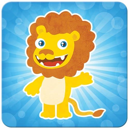 Kids memory game: animals