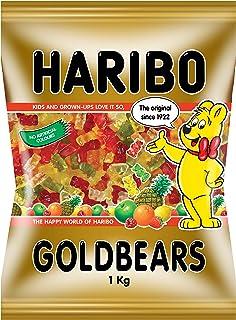 HARIBO Goldbears Gummy Candy, 1kg | Pineapple, Strawberry, Lemon, Orange, Raspberry