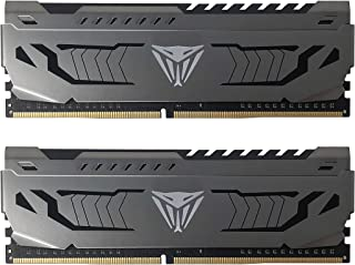Viper Steel DDR4 3200 8GB (2x4GB) C16 Módulo de Memoria Alto Rendimiento Gris PVS48G320C6K