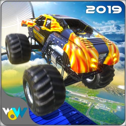 Impossible Monster Truck Stunt Racing 2019