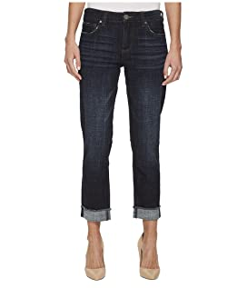 Amy Crop Straight Leg-Roll Up Frey Jeans