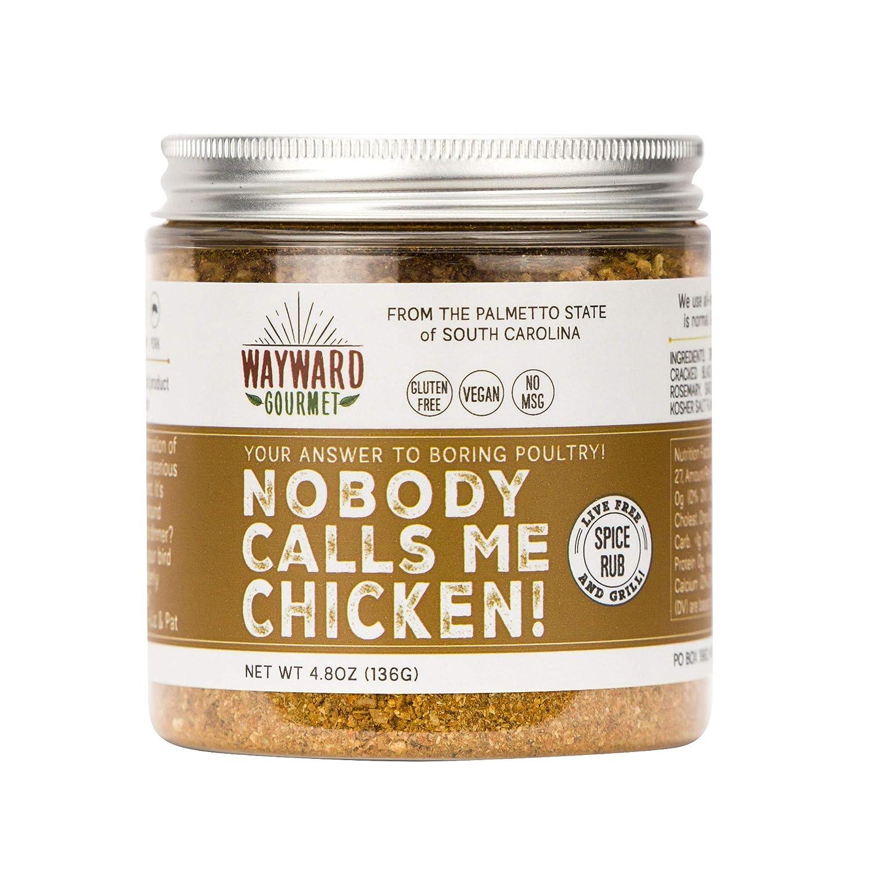 Nobody Calls Me Chicken Rub Seasoning Wayward Genuine Gourmet Le by - sale