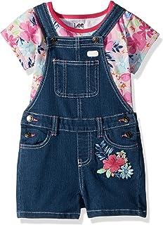 Lee - Pantalones Cortos para niña (2 Unidades)