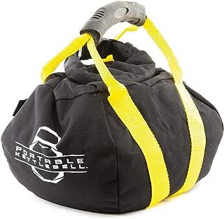PKB PORTABLE KETTLEBELLS: The Original Sandbag Kettlebell - Crossfit, Travel, Yoga, Home Workout Sandbag Training Equipment Fully Adjustable Kettlebell Weights