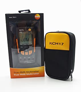 TestHelper Testo 760-3 with Soft Case KCH17 Digital Multimeter 0590 7603 Voltage Range Up to 1000V