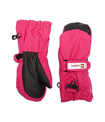 LEGO Kids Snow Mittens with Thinsulate Insulation (Infant/Toddler/Little Kids) (Dark Pink) Over-Mits Gloves