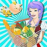 Supermarket Girl Shopping Mall