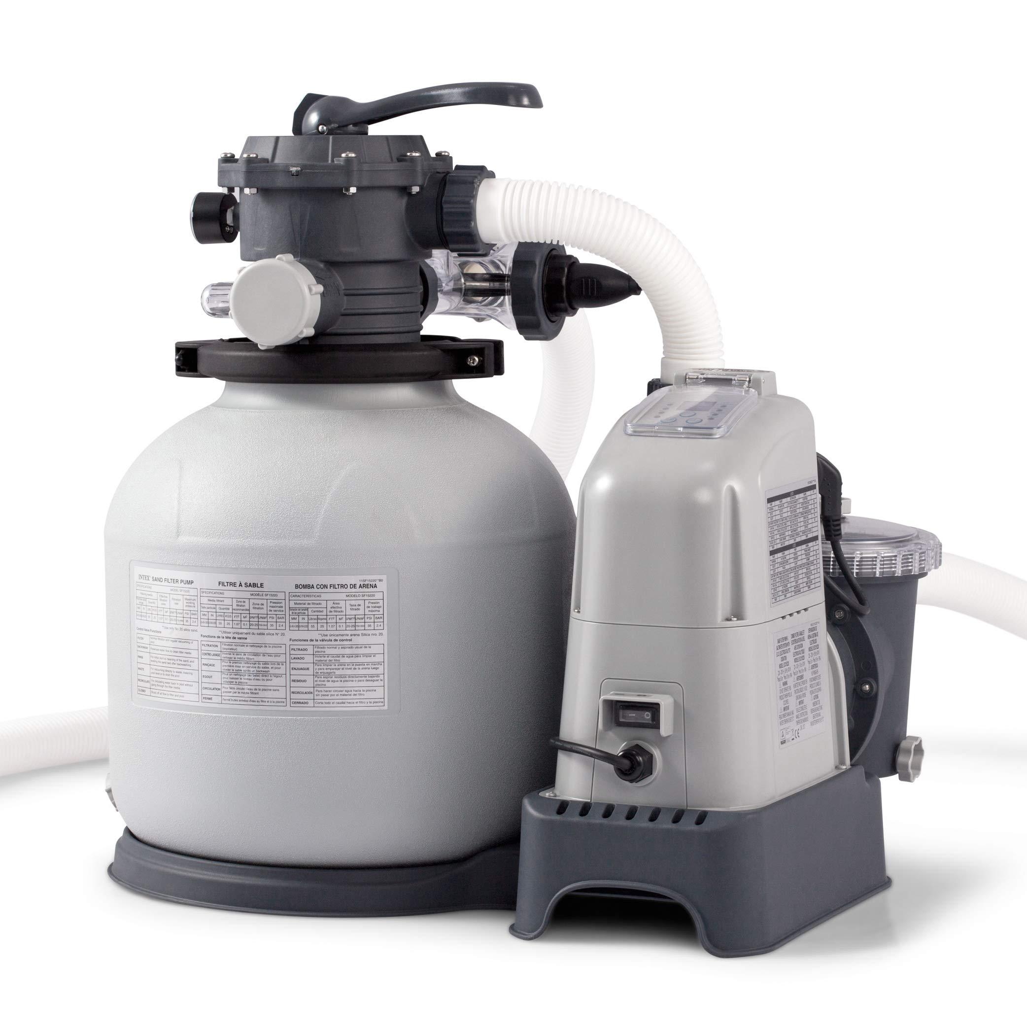 Intex Saltwater Electrocatalytic Oxidation 110 120V