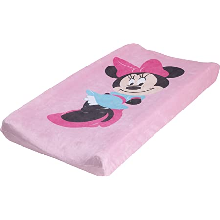 Dinsey Minnie Changing Pad Cover, Pink, Black, Blue