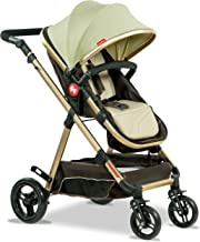 Fisher-Price - Hiker Luxury Stroller Cum Pram (Cozy Brown)
