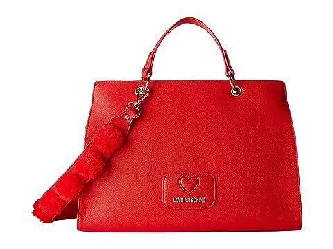 LOVE Moschino Pom Pom Handbag