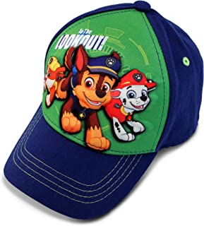 Boys' Toddler Paw Patrol Character 3D Pop Baseball Cap,...