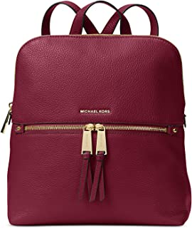 6c923aa29123 MICHAEL Michael Kors Rhea Zip Medium Slim Backpack (Mulberry)