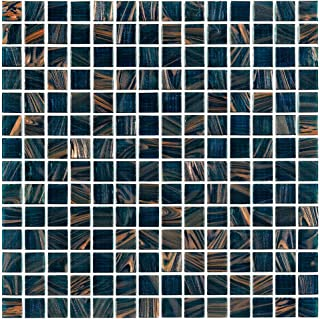 Best peacock glass tile Reviews