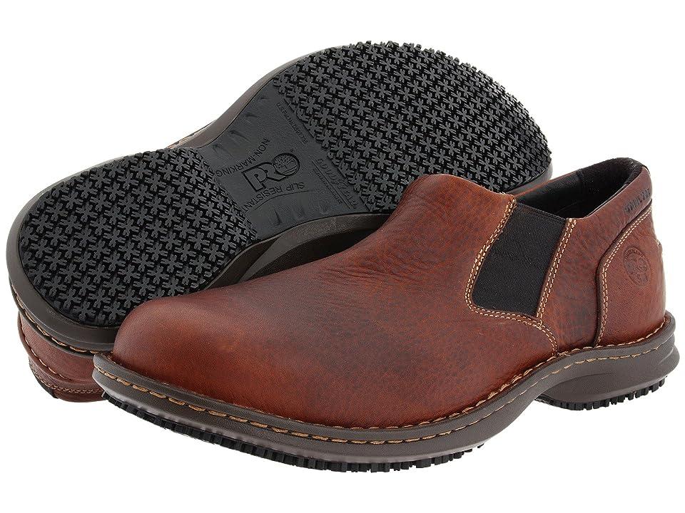 Timberland PRO Gladstone ESD Steel Toe (Brown Full-Grain Leather) Men