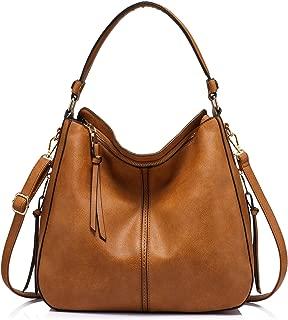Synthetic Leather Handbags for Women Shoulder bag Cross Body Bag Designer Handbags Large Tote Bag Hobos Bag with tassel Brown