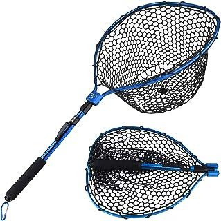 Sougayilang Fishing Net Aluminum Foldable Landing Net...