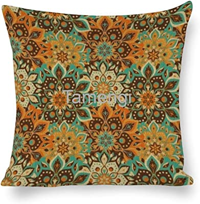 Moslion Aztec Print Throw Pillow Cover Native Tribal Design Geometric Ethnic Stripe Lines Black White 24x24 Inch Square Pillow Case Cushion Cover For Home Car Decorative Cotton Linen Home Kitchen