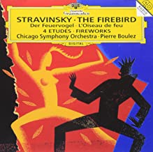 STRAVINSKY: THE FIREBIRD/DER FEUERVOGEL LOISEAU DE FEU/4 ETUDES/FIREWORKS