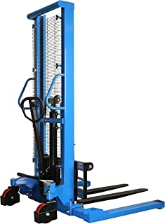 Best manual forklift pallet stacker Reviews