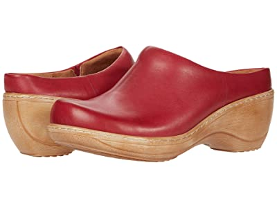 SoftWalk Madison (Dark Red Leather) Women