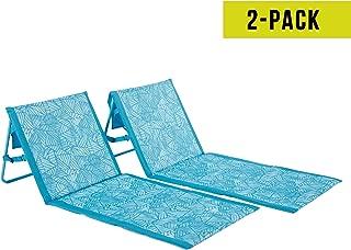 Lightspeed Outdoors 2-Pack Lounger Park and Beach Chair