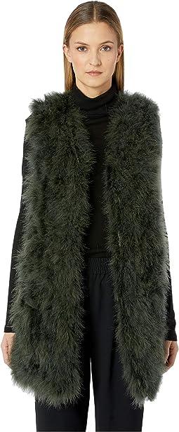 Verda Feather Vest