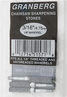 Threaded Grinding Stones - 3/16in. Width, 3-Pc. Set