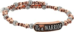 Wrinkle In Time - Be A Warrior Wrap Bracelet
