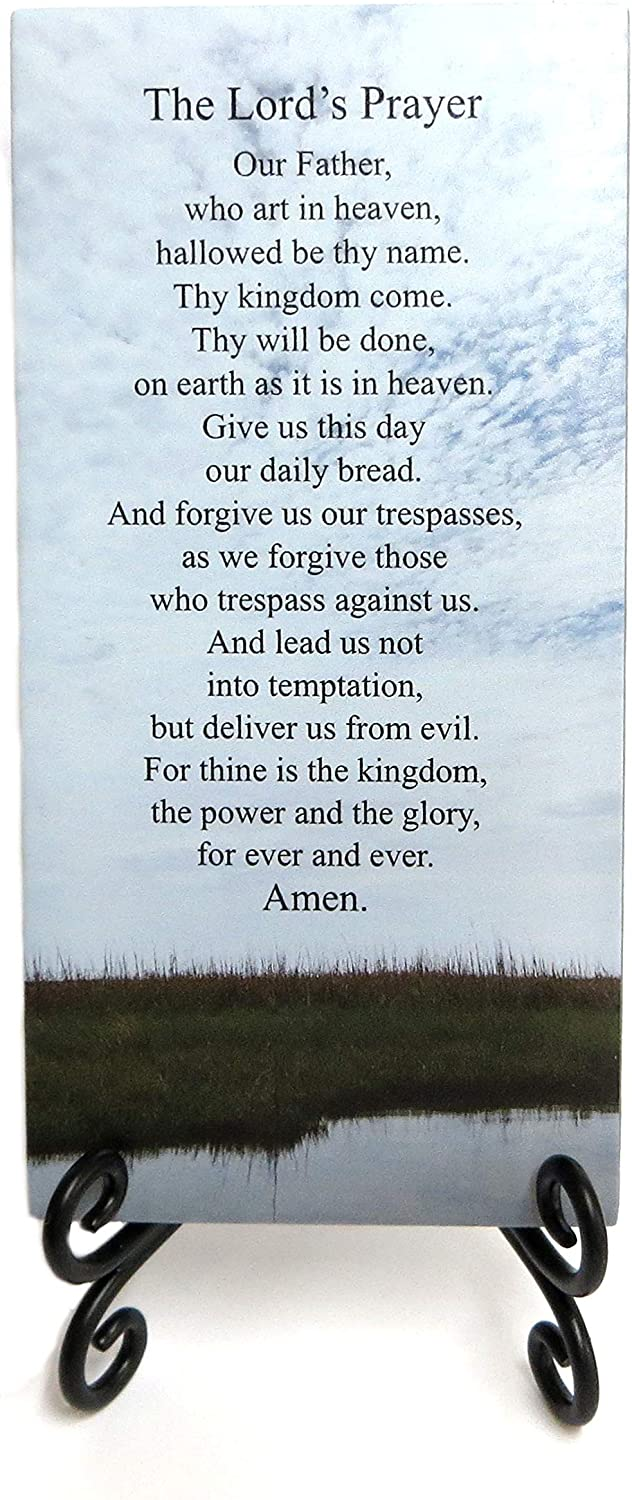 Lifeforce Glass free shipping latest The Lord's Plaque. Inspirational Ho Prayer