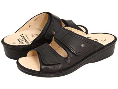 Finn Comfort Jamaica 82519 (Black Nappa Soft Footbed) Women
