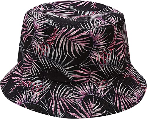 discount Unisex Bucket Hat Reversible popular Fisherman Cap Packable Casual Travel Beach Sun Hats new arrival for Men Women with Cute Patterns outlet sale