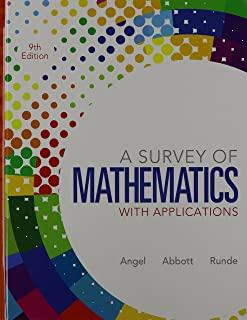 Survey of Mathematics with Applications, A Plus MathXL (6 months) (9th Edition)