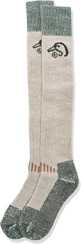 Ducks Unlimited Men's Wool Blend Wader Socks, Tan, Large