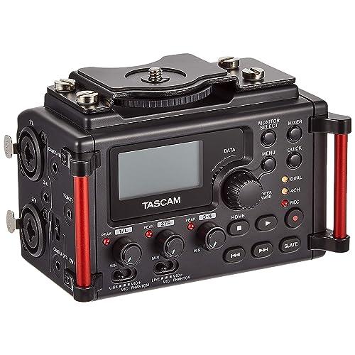Tascam DR-60DMKII – Grabadora estéreo PCM lineal para DSLR