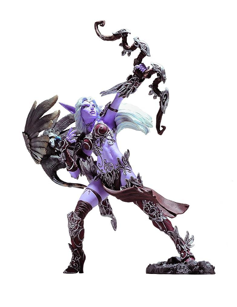 DC Comics World of Warcraft Series 5: Night Elf Hunter: Alathena Moonbreeze with Sorna Action Figure