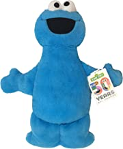 Jay Franco Sesame Street Plush Stuffed Cookie Monster Large Pillow Buddy - Super Soft Polyester Microfiber, 22 inch (Official Sesame Street Product)